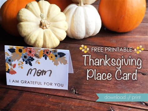 free word template thanksgiving place cards free printable thanksgiving place cards print