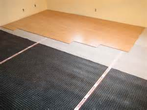 Sub Floor Basement Installing Subfloor For Small Basement Tips For