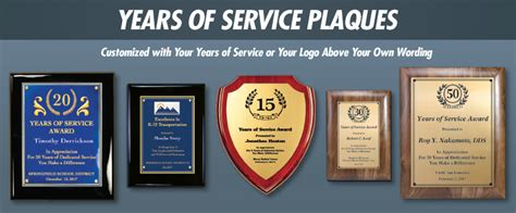 10 Years Of Service Plaque Wording by Present Years Of Service Plaques Brown Originals