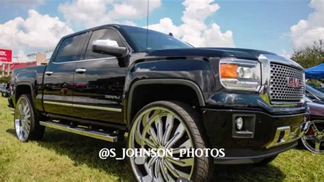 clean gmc denali on 32 inch amani forged rims in hd