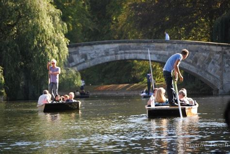 punt boat tour cambridge nomadic texan a european river tour with a difference