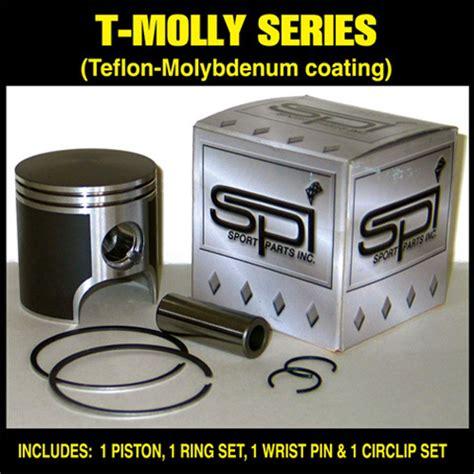 Piston Kit Yamaha Zr Asli spi oem style piston kit with rings teflon coated std arctic cat 580 ext zr powder special