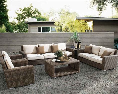 outdoor seating collections california patio
