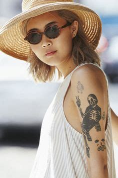 flash tattoo urban outfitters xjonstars may hong major models for urban outfitters