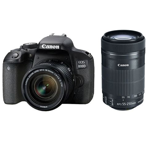Canon 55 250 Is Stm canon eos 800d 18 55 is stm 55 250 is stm lens kit