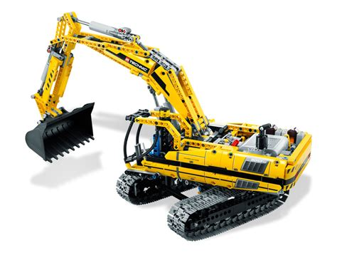 Motorized Excavator 8043   TECHNIC   Brick Browse   Shop LEGO®