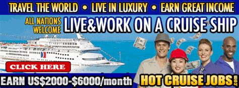 ship jobs no experience 21 new how to get hired on a cruise ship fitbudha