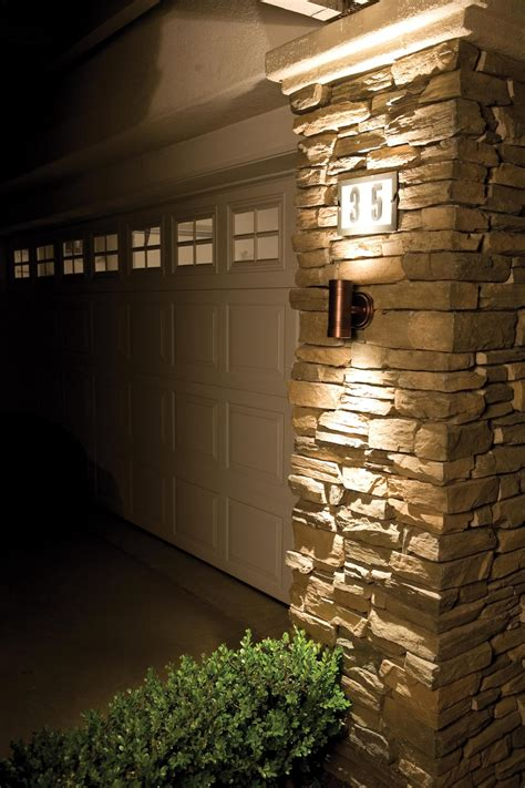design house exterior lighting exterior wall stone cladding house design with outdoor led