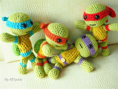 free pattern ninja turtle how to crochet a ninja turtle home design garden