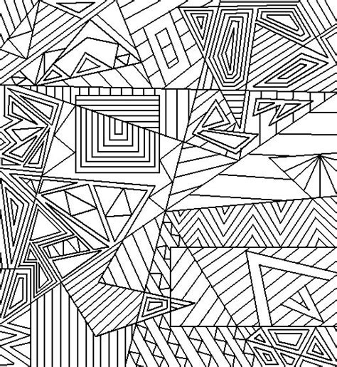 abstract coloring pages pinterest abstract shapes printable coloring page printables