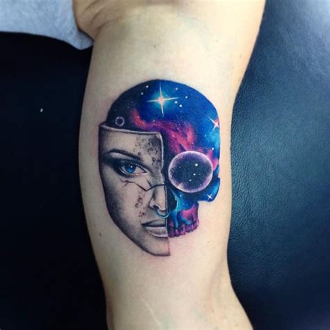 watercolor tattoos galaxy stunning watercolor tattoos by adrian bascur kickass things