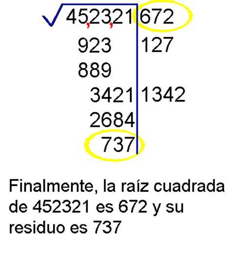 raiz cuadrada de 13 ejercicios de ra 237 z cuadrada automatic software
