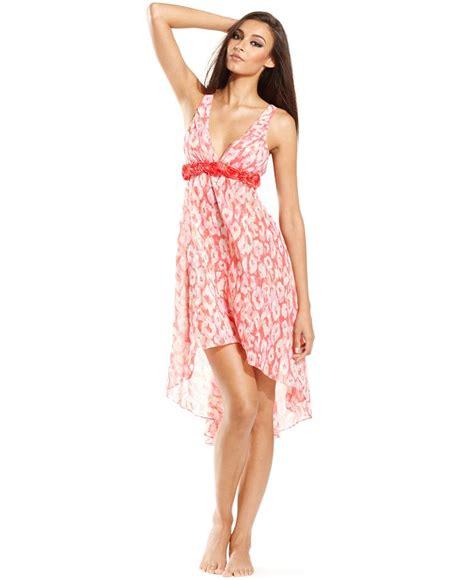 Dress Chiffon Flora flora by flora nikrooz elizabeth print chiffon gown