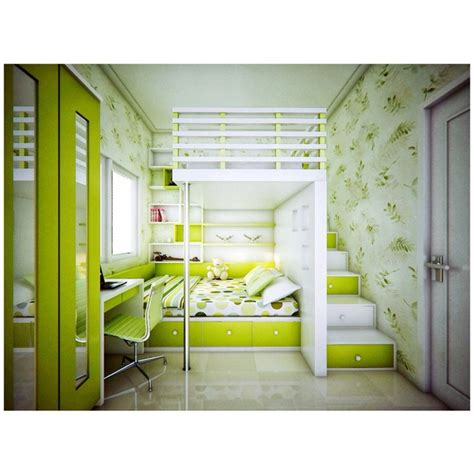 bright green bedroom lime green bedroom with stairs going up to the loft and a