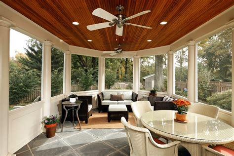 sun room screen room ideas traditional porch other metro by toned homes southwest a c sunroom tile floor ideas porch traditional with wood