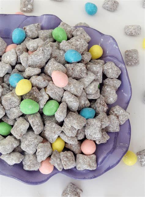 easter puppy chow reese s easter egg puppy chow and sugar