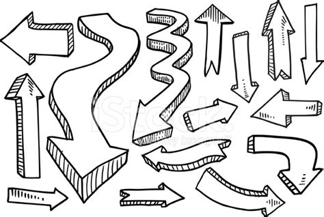 arrow doodle free vector doodle arrow vector set stock photos freeimages