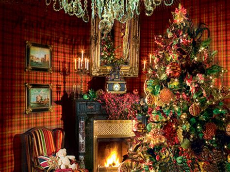 traditional christmas tree with trendy accents