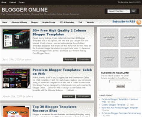 template generator blogger bloggeronline net blogger templates blogspot templates