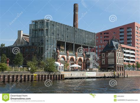 old modern old and modern architecture at river spree berlin
