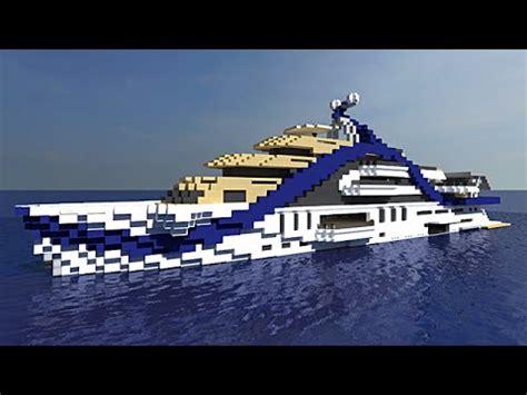 minecraft yot boat yacht minecraft project