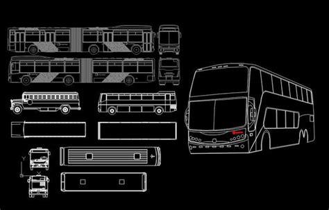 bus blocks cad design  cad blocksdrawingsdetails