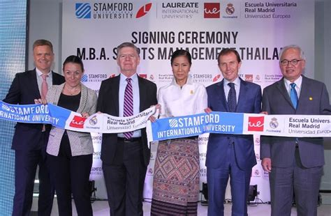Sports Management Mba Europe by Stamford International Launches Sports