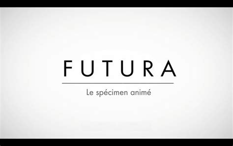futura channels futura le specimen anime in kinetic typography channel