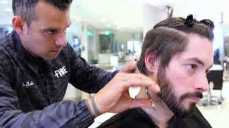 hairstyles boys step by step cut how to cut an asymmetrical undercut hairstyle step by step youtube