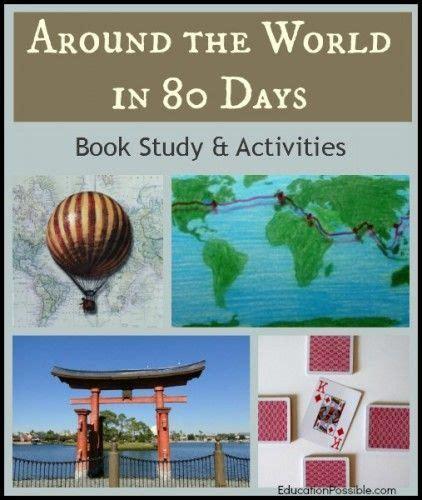 around the world in 80 days book study activities