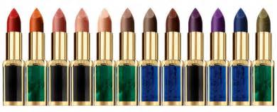 Bold Color the l or 233 al paris x balmain paris capsule lipstick