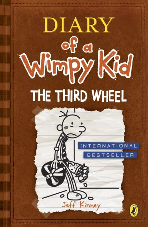 the diary of a the third wheel diary of a wimpy kid book 7 by jeff kinney