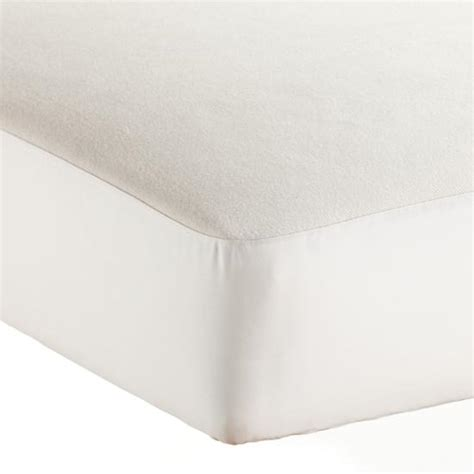 Organic Waterproof Crib Mattress Cover Naturepedic Organic Crib Mattress Pad The Land Of Nod