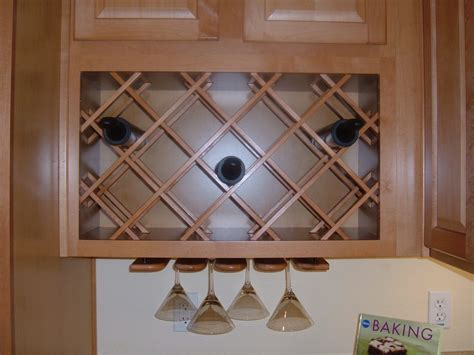 kitchen cabinet wine rack lattice kitchen wine rack cabinet with glass holder
