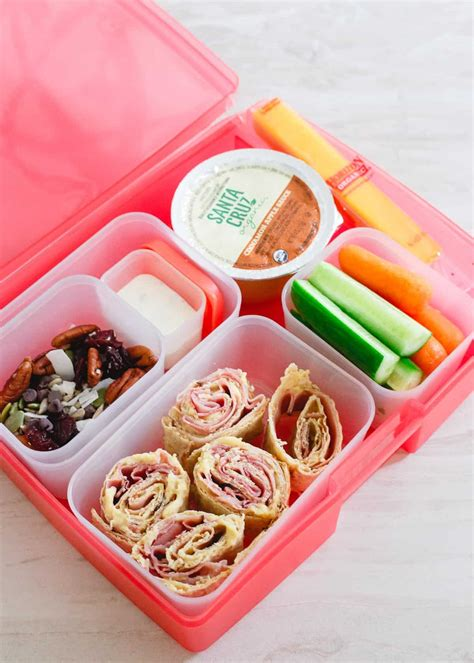 simple lunchbox ideas with easy trail mix recipe
