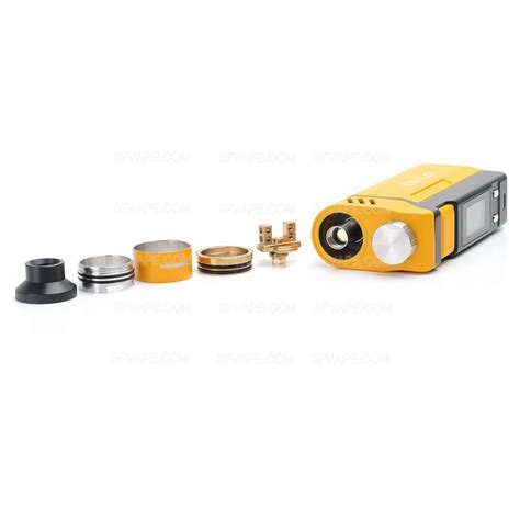 Ijoy Rdta Box 200w Authentic authentic ijoy rdta box 200w yellow tc vw variable wattage