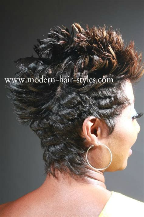 27 pc black hair styles mohawk short hairstyles for black women self styling options
