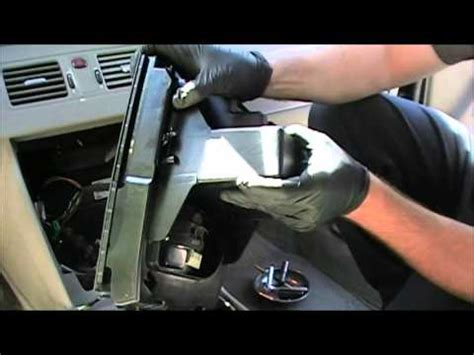 how cars run 2002 volvo s40 transmission control how to remove your volvo xc90 radio and climate control unit youtube