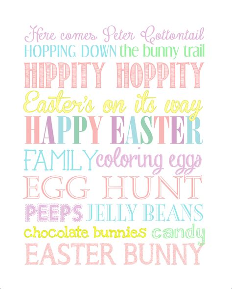 free printable easter art easter subway art free printable how to nest for less