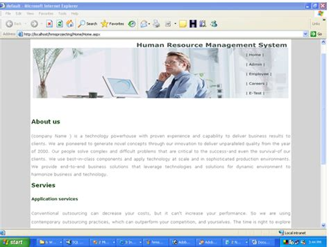 Payroll Project Report For Mba by Human Resources Management System Vb Net Project Topic