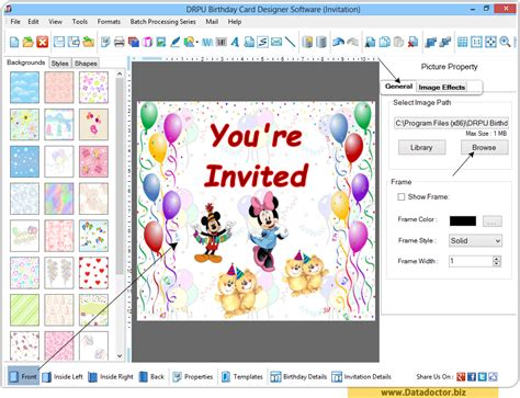 Gift Card Software - birthday card maker software design funny greeting happy birthday cards