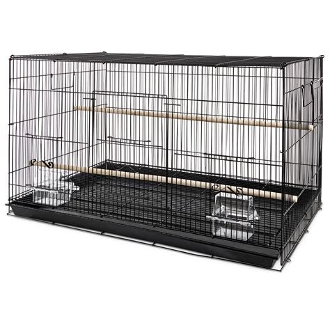 cage of you me finch rectangle flight cage petco