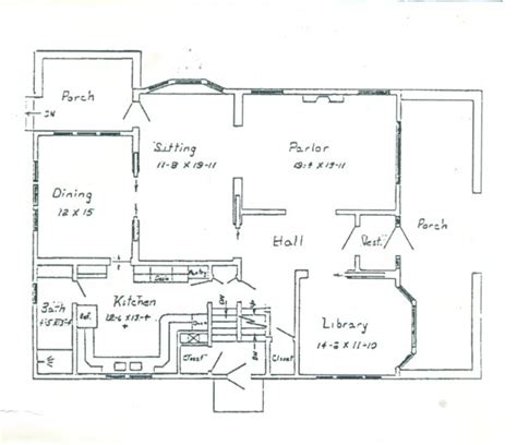 draw house plans horrorplace gallery the calling