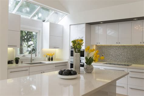 up modern kitchen five ways to keep a white on white modern kitchen warm