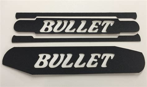 boat bow decals bullet logo non skid traction decal for bow area on quot x
