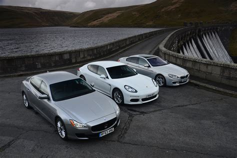 maserati bmw maserati quattroporte vs bmw 6 series gran coupe vs