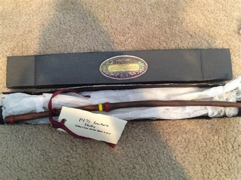 Handmade Harry Potter Wands - handmade harry potter wand and letter secret santa 2012