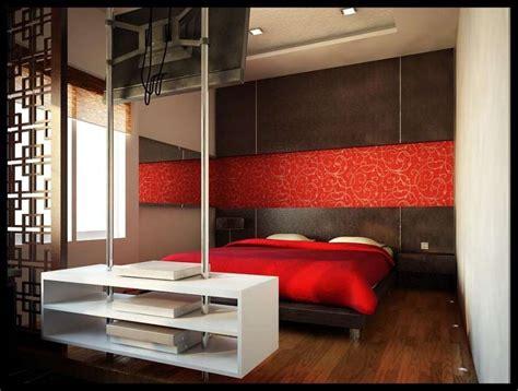 da letto rossa e arredare casa con il marrone foto design mag