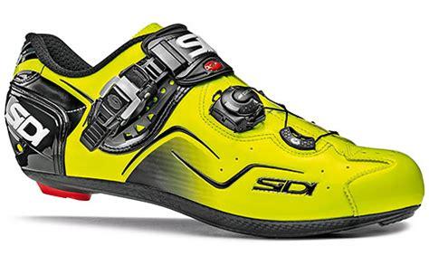 Kaos Minimalis Cycling Pedal Power sidi kaos road cycling shoes yellow fluo