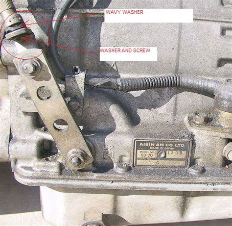 lost aw shift linkage parts  driving volvo